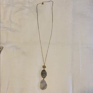 Anthropologie Stone Necklace